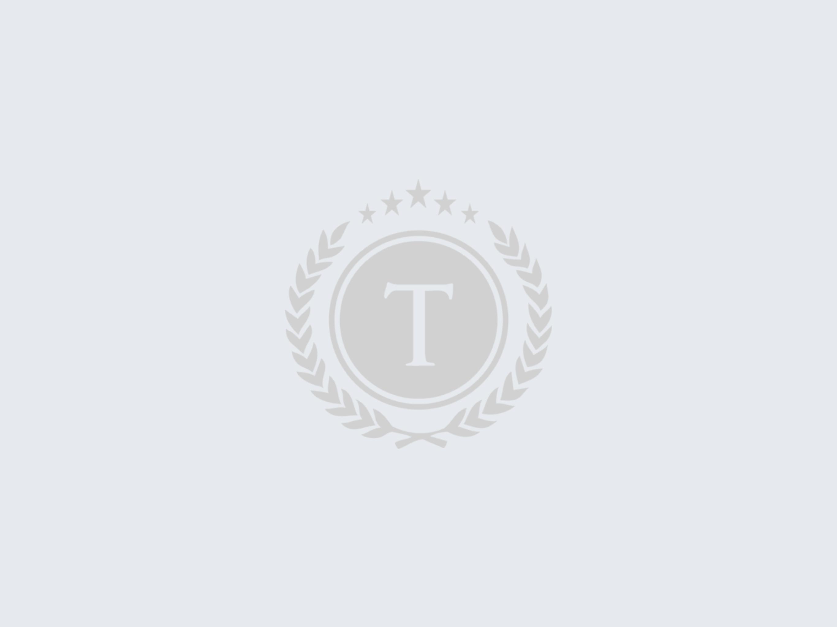 Kuva Suomen Tuontiliikkeen logosta harmaalla taustalla.